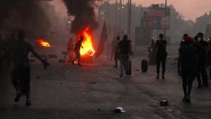 Wieder Tote bei Ausschreitungen im Irak