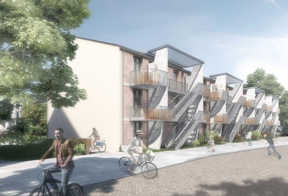 bilderstrecke zu urbanes bauen wohnexperimente f r die wachsende stadt bild 1 von 3 faz. Black Bedroom Furniture Sets. Home Design Ideas