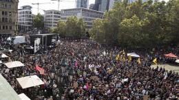 """Klimaprotest im """"Monument der Demokratie"""""""