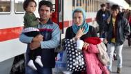 So viele Flüchtlinge sind in Deutschland