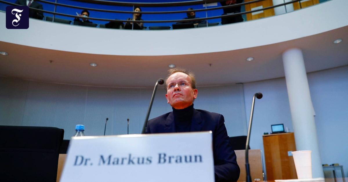 Im Wirecard-Ausschuss: Wirtschaftsprüfer wollen nicht aussagen