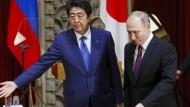 Putin besucht Japan