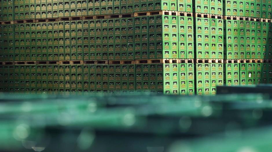 Umsatzrückgänge während Corona-Pandemie: Die Pfungstädter Brauerei musste große Einbußen hinnehmen.
