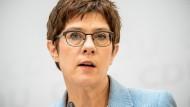 Annegret Kramp-Karrenbauer (CDU) im Juni 2020