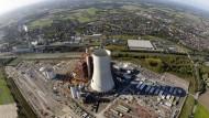 Der unfertige Bau des Steinkohlekraftwerks Datteln IV