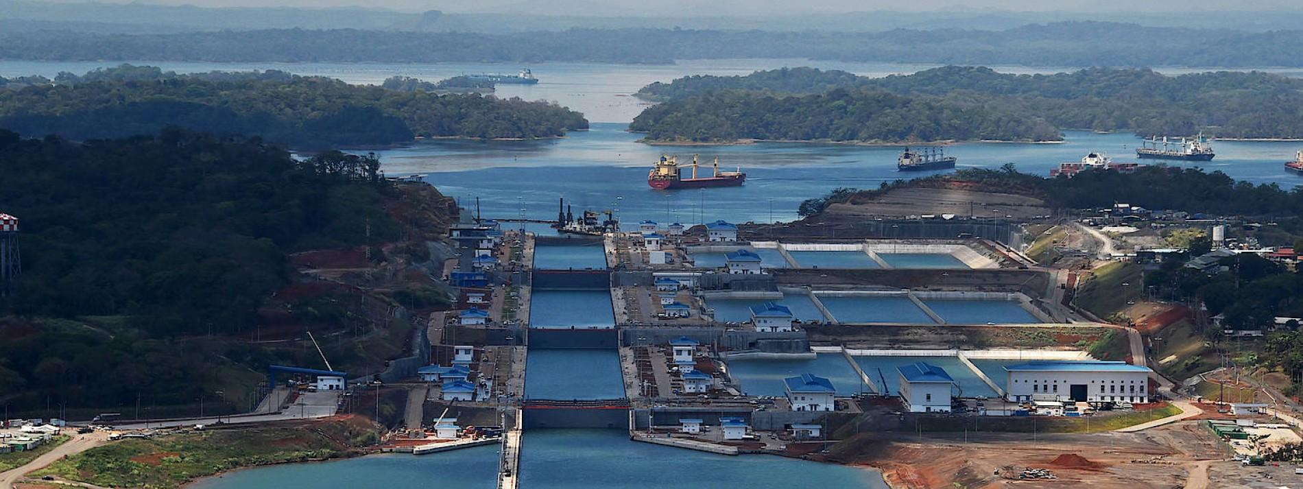Im Panamakanal wird das Wasser knapp