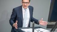Der CSU-Landesgruppenvorsitzende Alexander Dobrindt