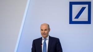 Deutsche-Bank-Vorstand Marcus Schenck plant sein Comeback