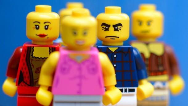 Lego-Figuren sind eine Marke