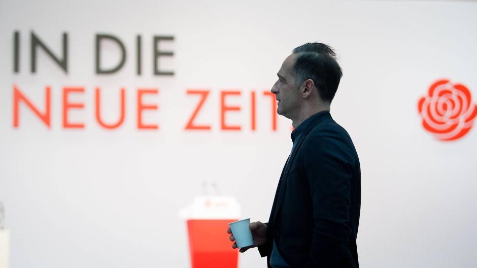 Scheiterte im ersten Wahlgang für den Parteivorstand: Außenminister Heiko Maas