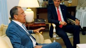 Amerika begrüßt, Russland verurteilt Ende des EU-Waffenembargos