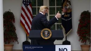 Trump bricht Gespräche mit Demokraten  ab