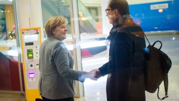 Merkel reagiert gelassen auf CSU-Klausurtagung