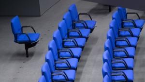 Warum der Bundestag immer größer wird
