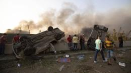 Zahlreiche Tote und tausende Verletzte in Beirut
