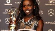 Vivian Cheruiyot siegte bei der Leichtathletik-WM über 5000 und 10.000 Meter