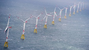 """Orkan """"Sabine"""" lässt Windräder auf Rekordniveau produzieren"""