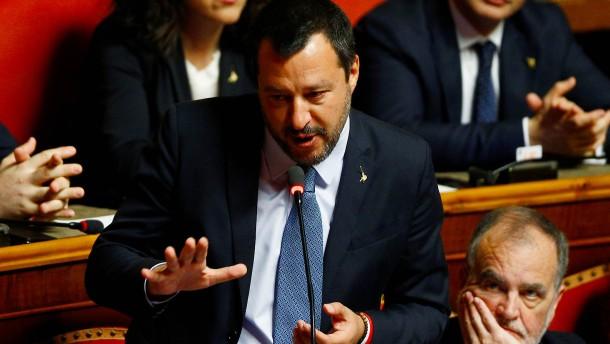 Senat stimmt gegen Aufhebung der Immunität Salvinis