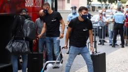 RB Leipzig und Bayern München trainieren in Portugal