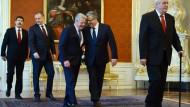 Gauck erinnert in Prag an Proteste vor 25 Jahren