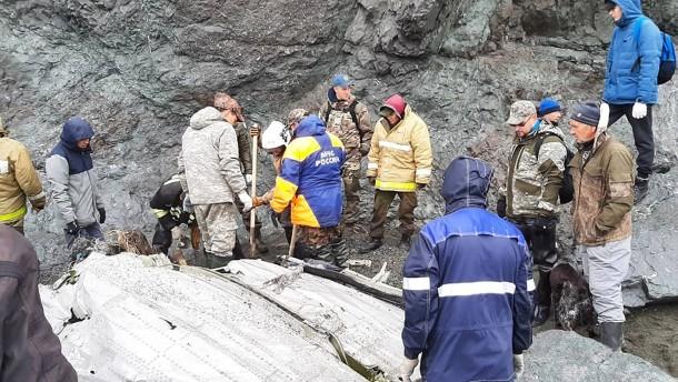 Mehrheit der Opfer nach Flugzeugabsturz auf Kamtschatka geborgen