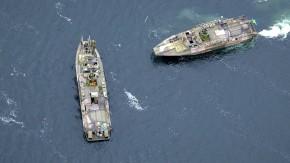 Schwedisches Militär auf der Suche nach fremder U-Boot-Aktivität