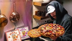 Die Pizza kommt vom Bratan