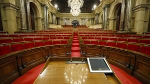 Katalanisches Parlament sagt Sitzung ab