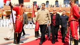 Amerika droht Maduro mit neuen Sanktionen