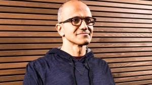 Microsoft holt den neuen Chef aus der Cloud