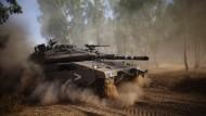 Israel rückt auf Gazastreifen vor