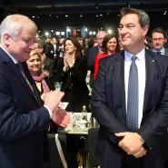 Der ehemalige CSU-Vorsitzende Horst Seehofer (l.) und sein Nachfolger Markus Söder (r.) – eventuell bald auch der alte und neue Bundesinnenmister?