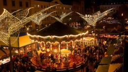 Wiesbaden feiert Sternschnuppenmarkt