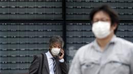 Ein Systemfehler legt die Börse in Tokio lahm