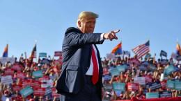 Der Präsident schlägt um sich
