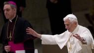Papst Benedikt XVI. dankte den Gläubigen für die Gebete und die große Anteilnahme