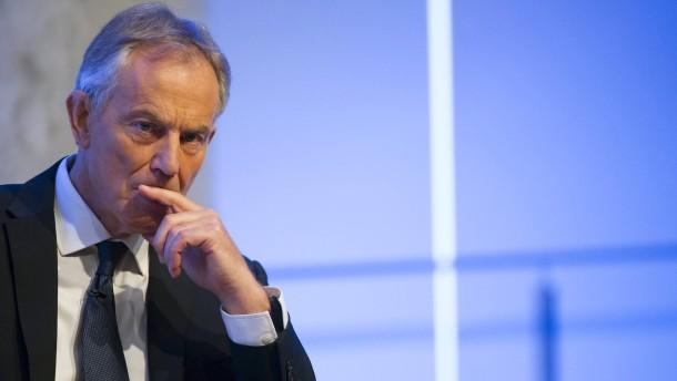 Tony Blair gesteht Fehler im Irak-Krieg ein