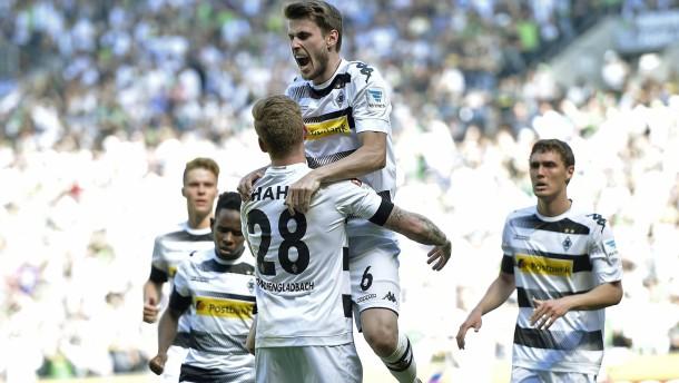 Gladbach nähert sich der Champions League