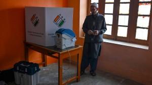 Beginn der Parlamentswahl in Indien