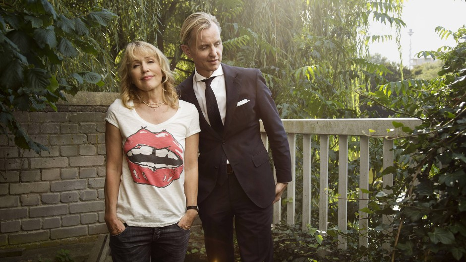 Annette Humpe mit Max Raabe