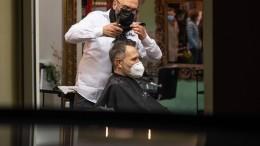 Friseure in Deutschland öffnen wieder
