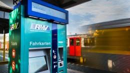 RMV beginnt mit Umrüstung seiner Fahrkartenautomaten