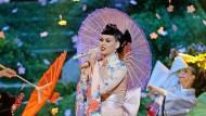 Katy Perrys Geisha-Auftritt bei der Grammy-Verleihung 2013 wurde von manchen als kulturimperialistischer Akt verstanden