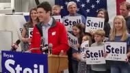 Mit Rückendeckung von Trump: Bryan Steil kandidiert in Wisconsin für den Senatssitz von Paul Ryan, dem Sprecher des amerikanischen Repräsentantenhauses