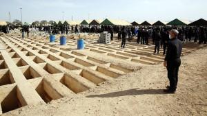 In Iran gibt es jetzt mehr Bestattungen als im Krieg