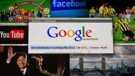 Schau nach bei Google: Der Internet-Konzern hat die beliebtesten Suchbegriffe in 2012 veröffentlicht