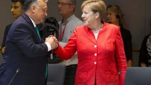 Orban zu Asyl-Abkommen mit Deutschland bereit, aber ...