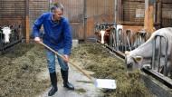 Steherqualitäten: Bauer Frank Hammen aus Wehrheim hält auch in der Niedrigpreisphase an Milchkühen fest.
