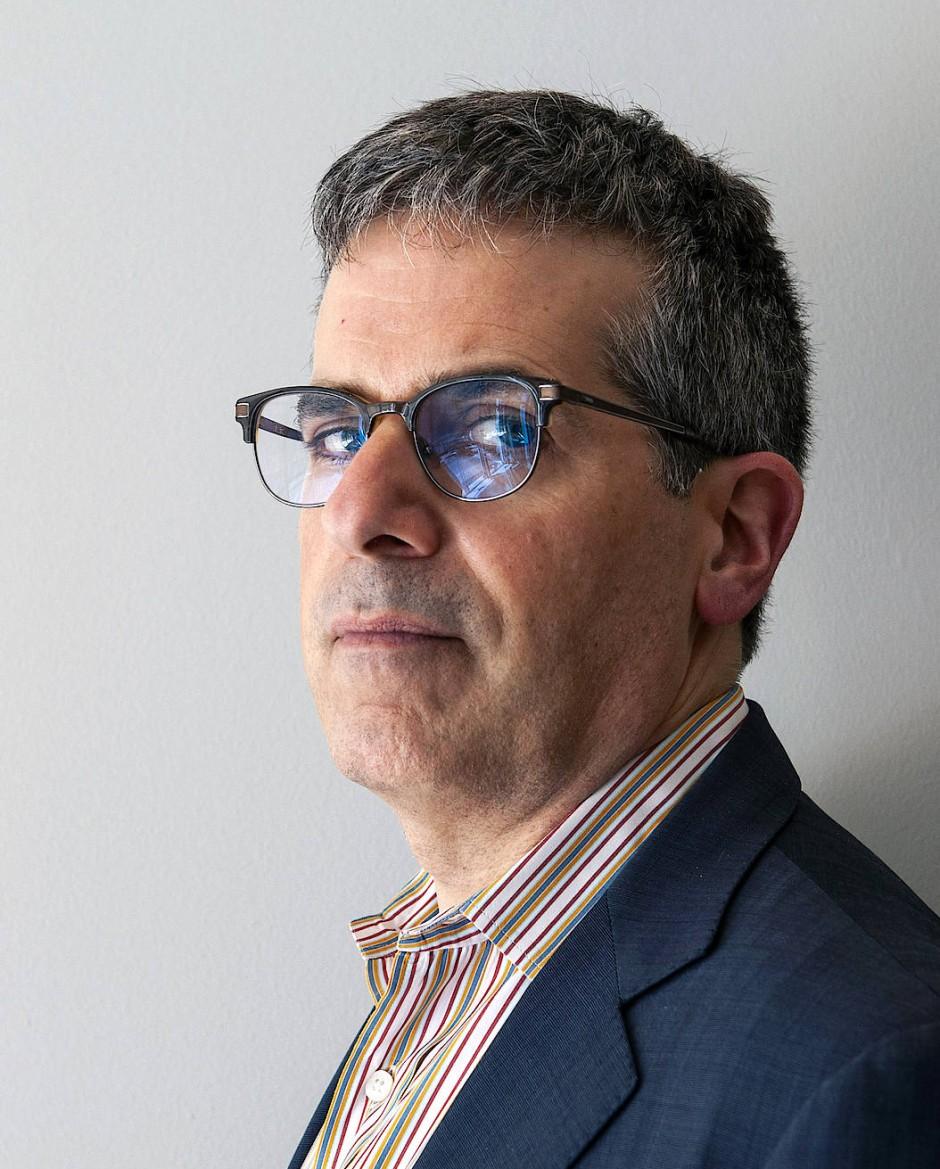 Der amerikanische Schriftsteller Jonathan Lethem