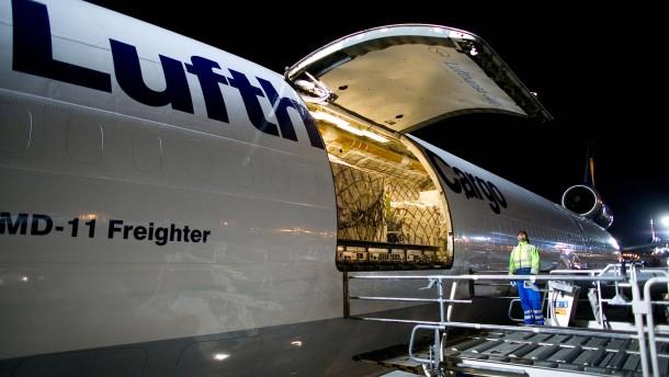 Lufthansa Cargo im Höhenflug